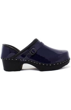 Women's Very Blueberry Patent Solid Clog