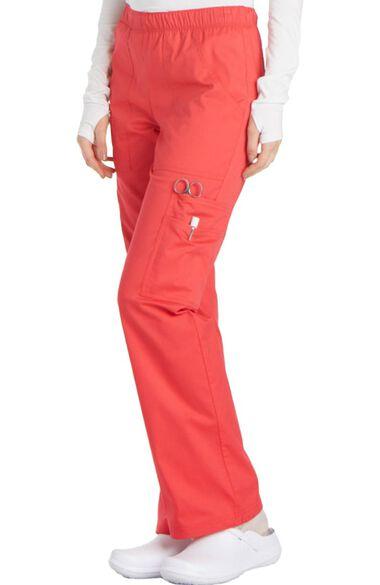 Women's Elastic Waist Scrub Pant, , large