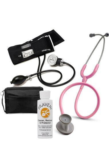 Lightweight II S.E. Stethoscope, Prestige Aneroid Sphygmomanometer, Case & Praveni Kit, , large