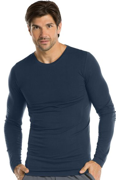 Clearance Men's Long Sleeve Knitted Solid Tee, , large
