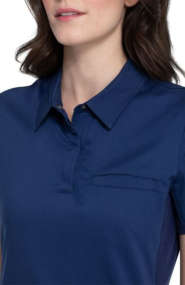 Women's Snap Front Polo Top, , large