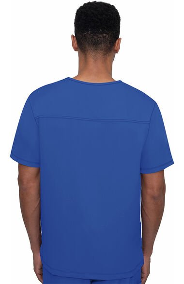 Men's Matthew V-Neck Solid Scrub Top, , large