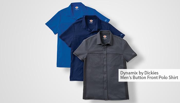 dickies scrub shirts for male nurses