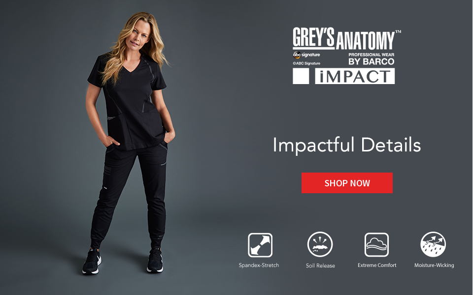 click to shop impact by grey's anatomy.