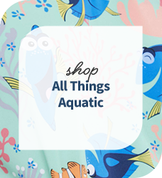 Shop our collection of aquatic print scrubs