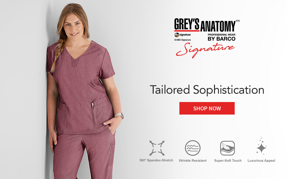 click to shop signature by grey's anatomy.