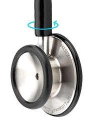 Learn how to use a double-sided Littmann stethoscope