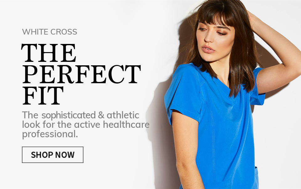 click to shop fit by white cross. The perfect fit.