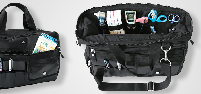 black medical bag for medical professionals