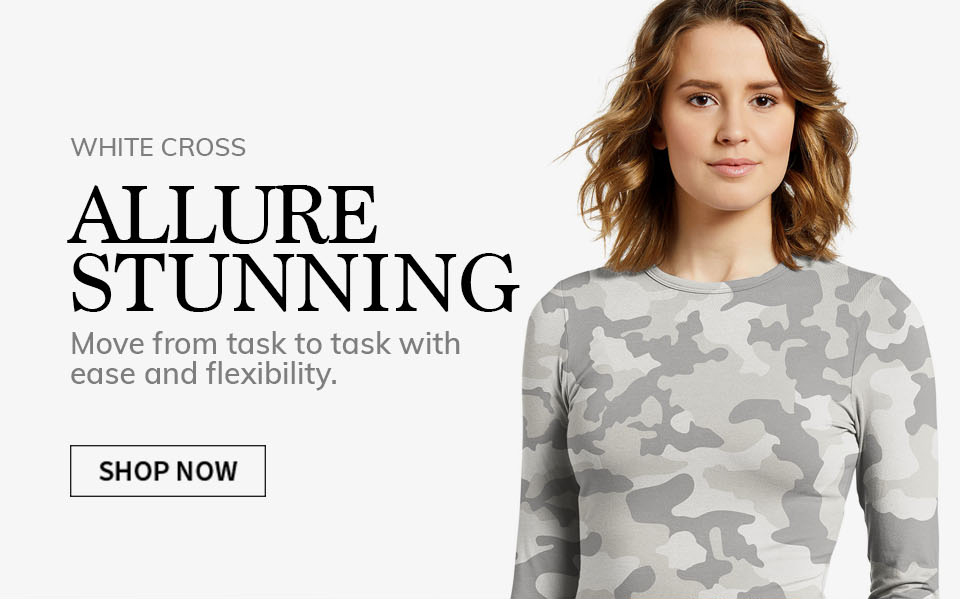 click to shop allure by white cross. Stunning.