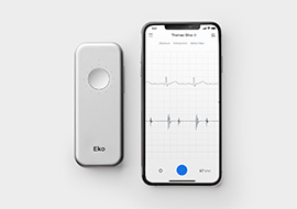 Eko Digital Stethoscope Spotlight: The DUO ECG + Digital Stethoscope