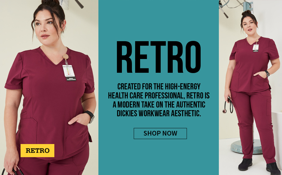 click to shop retro by dickies. retro is a modern take on the authentic dickies workwear aesthetic.