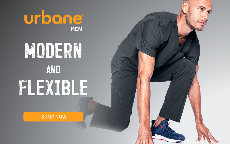 click to shop urbane men's products. modern and felxible.