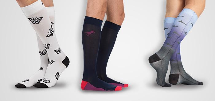 compression socks design for medical professionals
