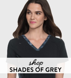 Shop our collection of grey neutral scrubs