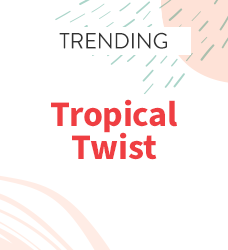 Shop our collection of tropical twist print scrubs