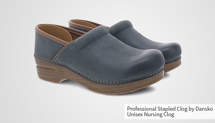 professional by sanita estelle patent clog for women
