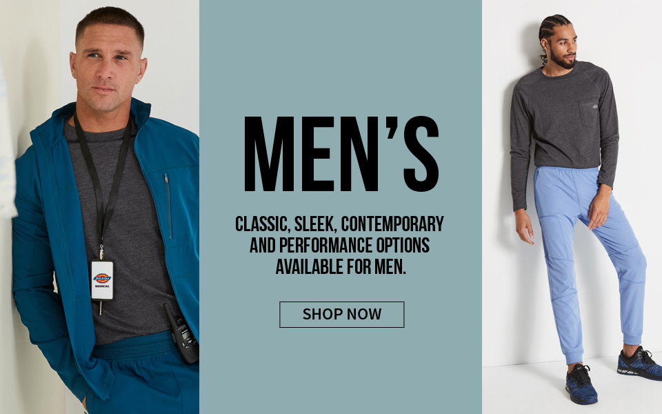 click to shop dickies men's products. classic, sleek, contemporary and performance options available for men.