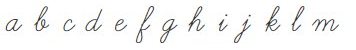 font curve