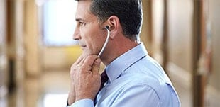Learn how to how to wear a Litmann stethoscope in your ears