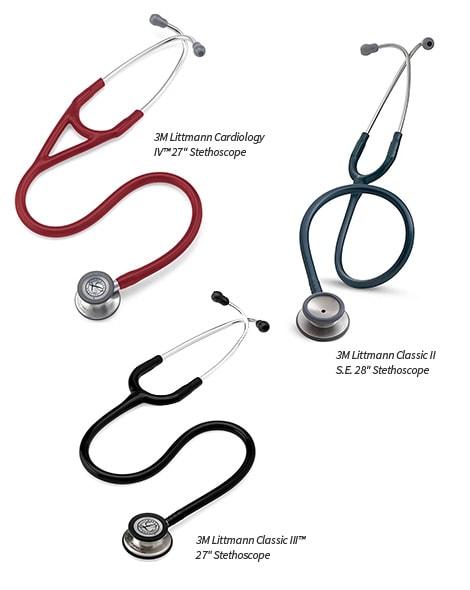 Littman Cardiology IV Stethoscope showing chestpiece
