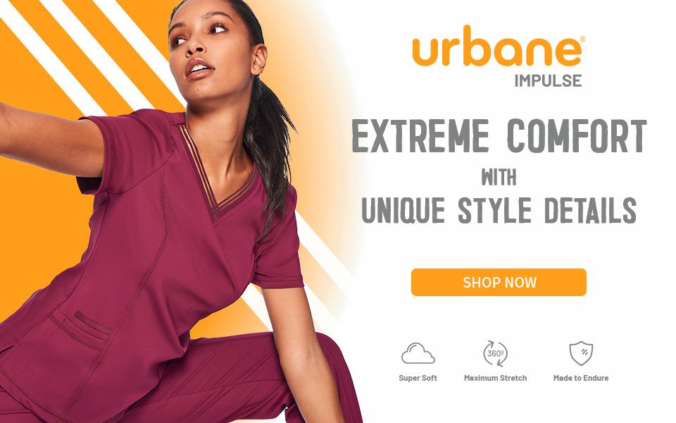 click to shop urbane impulse. extreme comfort with unique style details.