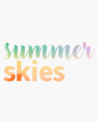 View our collection of summer skies prints