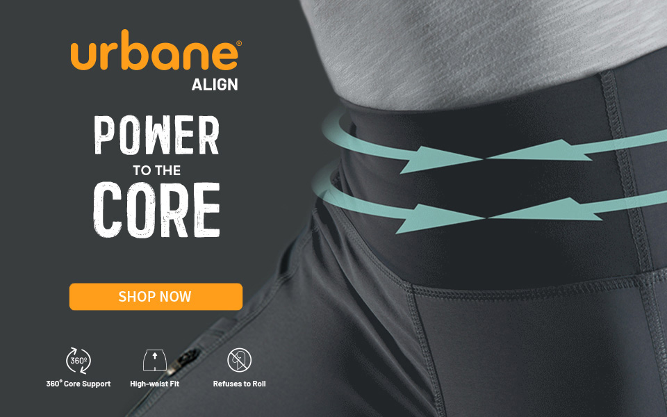 click to shop urbane align. power to the core.