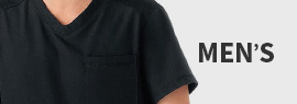 Shop men's scrubs by White Swan, view a variety of scrubs tops and scrub pants