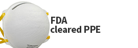 Click here to view a wide selection of FDA cleared personal protective equipment