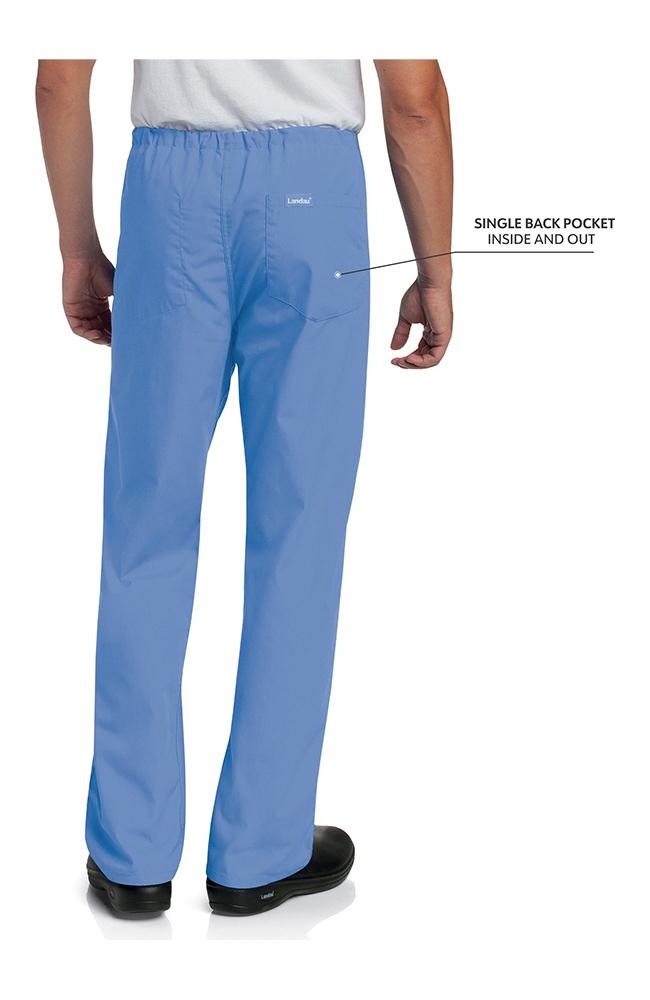 Landau Unisex Reversible Scrub Pant Style #7602 Ceil BCP Szs S M L 1 to 3 pc Lot