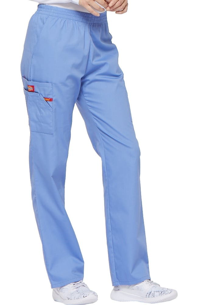 Details about  /Dickies Scrubs-EDS Signature Unisex Drawstring Scrub Pant-Ciel Blue-Extra Large