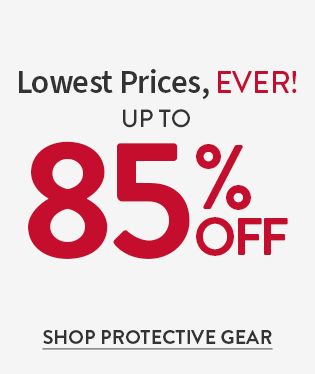 Lowest Prices Ever up to 85% Off Plus Free U.S. Shipping No Code Needed Shop Protective Gear